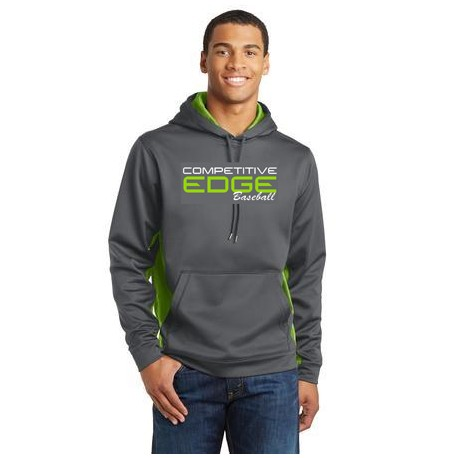 Sport-Tek 2 color performance hoodie