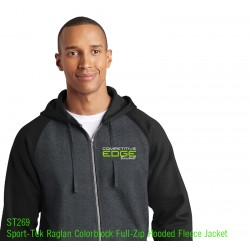 Comp Edge Sport Tek 2 color Full zip ST 269