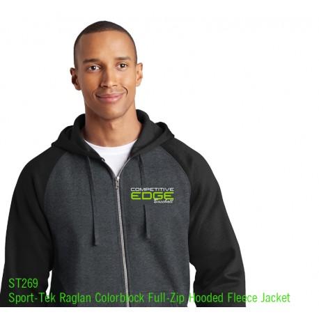 Comp Edge Sport Tek 2 color Full zip ST 269