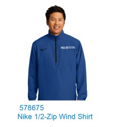 MidSouth 578675 Nike 1/2 Wind Shirt