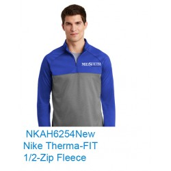 MidSouth NKAH6254 Nike 1/2 Zip Fleece