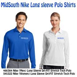 Midsouth Nike long sleeve polo