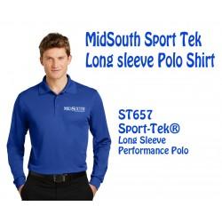 Midsouth ST657 L-S polo