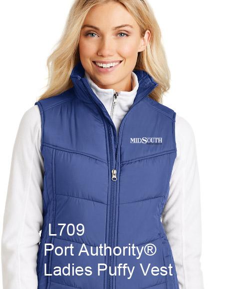 MidSouth L709 Women's puffy vest