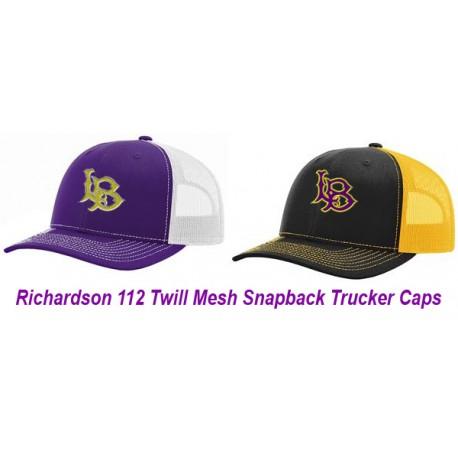 Richardson 112 Twill Mesh SnapBack Adjustable Cap