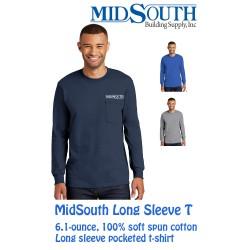 MidSouth Long Sleeve Pocket t