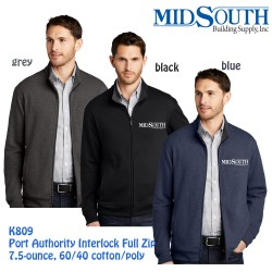 MidSouth K809 zip jacket
