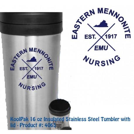 EMU Nursing Logo Tumbler