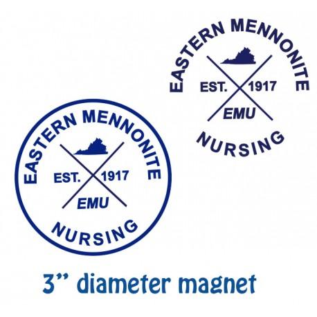 EMU Nursing Logo Magnet