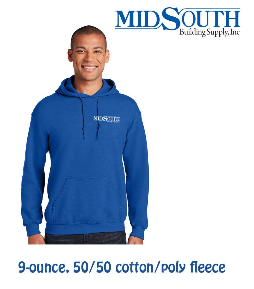 MidSouth 9 ounce Hoodie