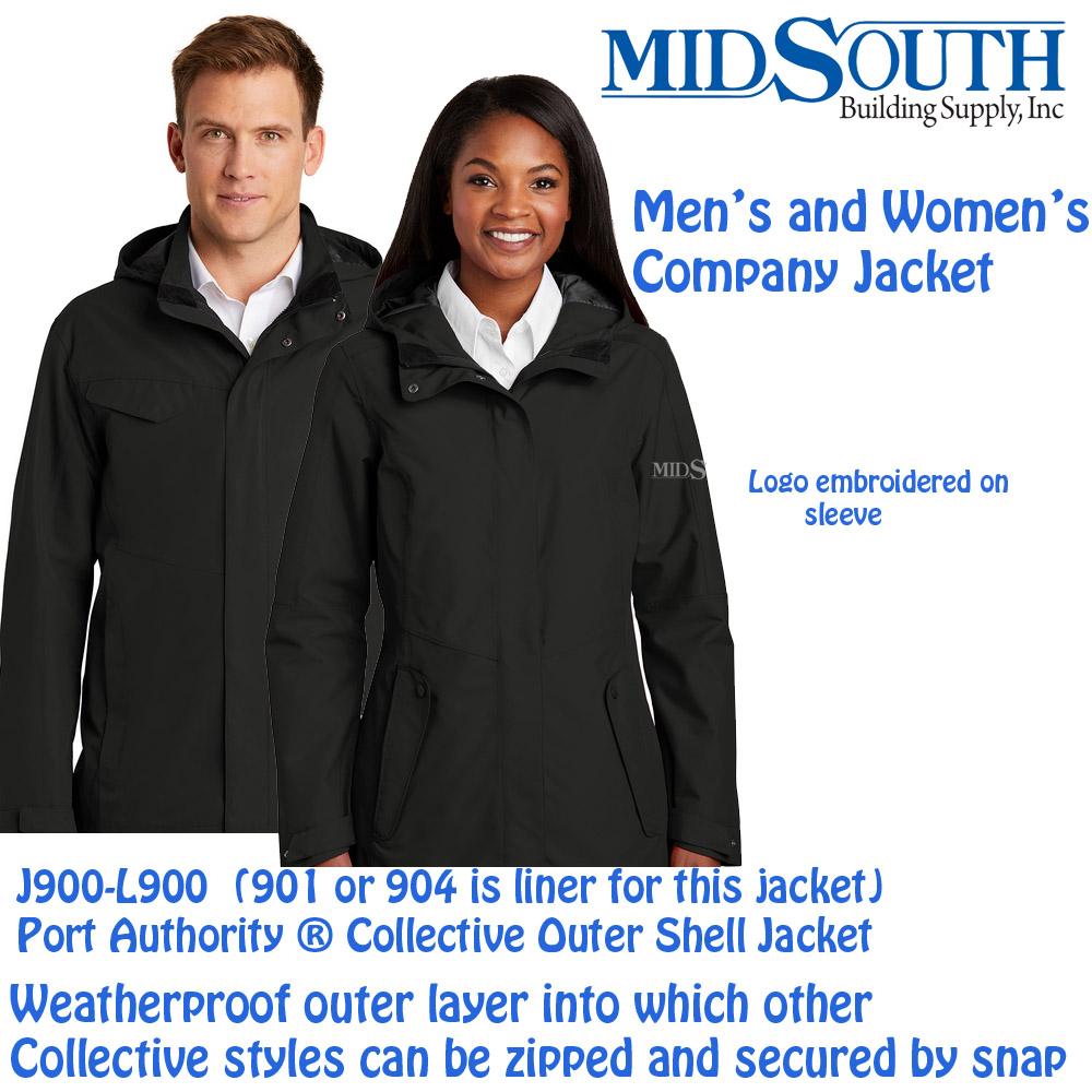 Midsouth j900-L900 Company Jacket