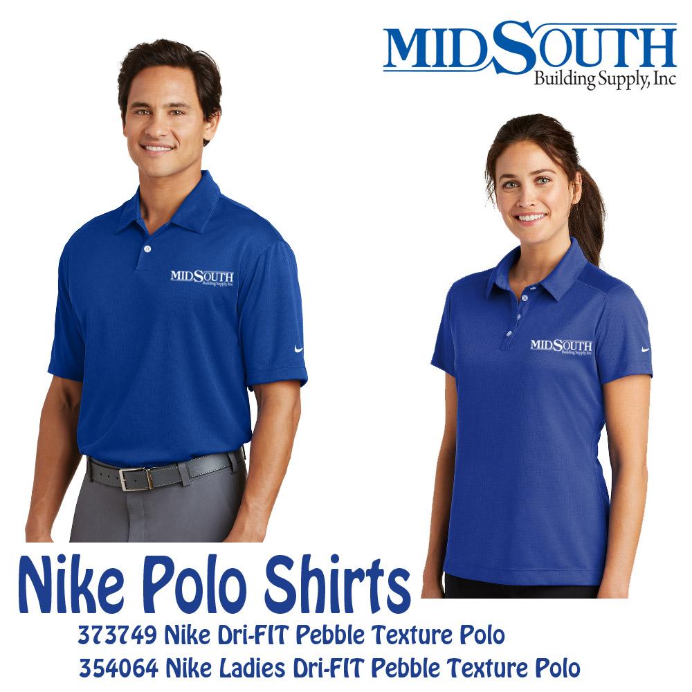 MidSouth Nike Dri-FIT Pebble Polo